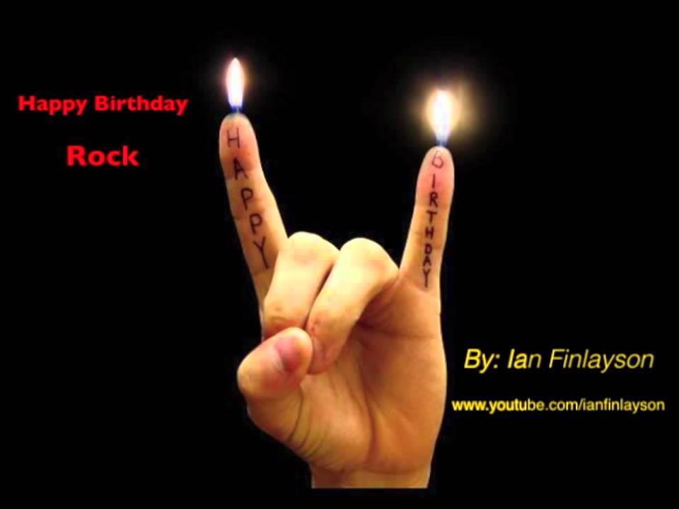 Поздравление в рок стиле 73