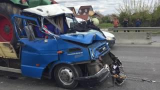 Accident pe Centura Oradea