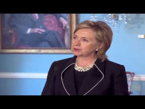 Hillary Clinton Press Conference on Israeli attack