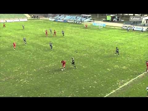 FC Lahti jäi Kisapuistossa 1-1 tasatulokseen FC Interiä vastaan. Maalintekijät: 52' Jussi Länsitalo 1-0, 79 Guy Gnabouyou 1-1 Selostus: Ili Varmavuo.