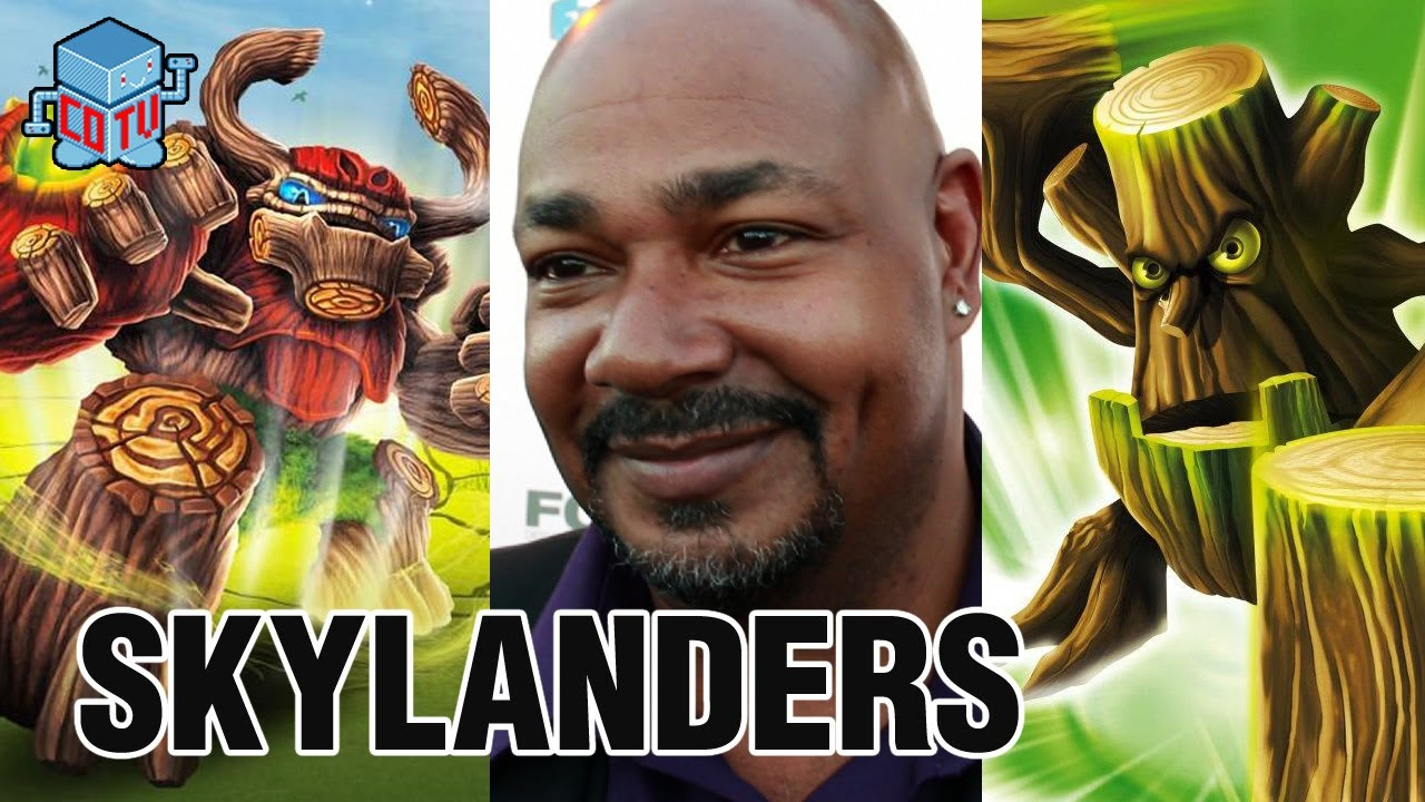 skylanders voice of tree rex  u0026 stump smash kevin michael richardson interview