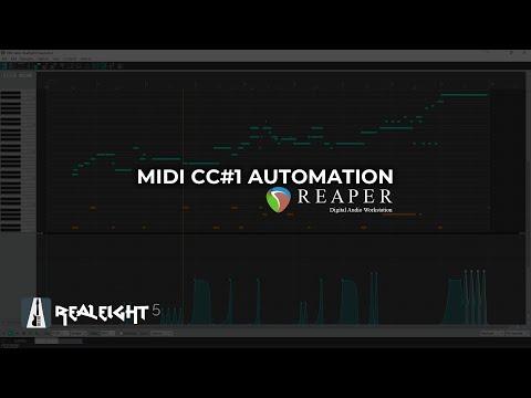 Creating Vibrato and Bend via MIDI CC#1 Automation