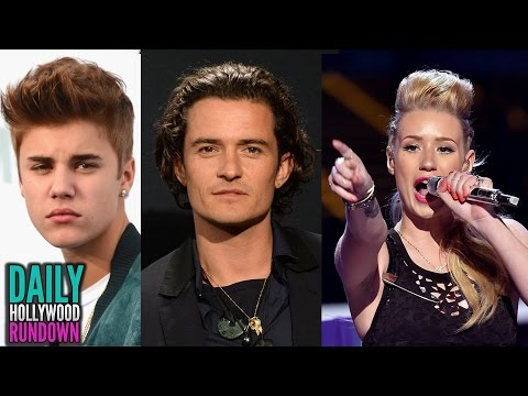Justin Bieber Fights W/ Orlando Bloom Over Miranda Kerr - Iggy Azalea Next Big Action Star? (DHR)