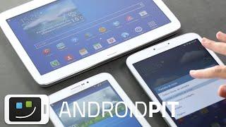 Samsung Galaxy Tab 3 7.0, 8.08 y 10.1 en vídeo Hands-On