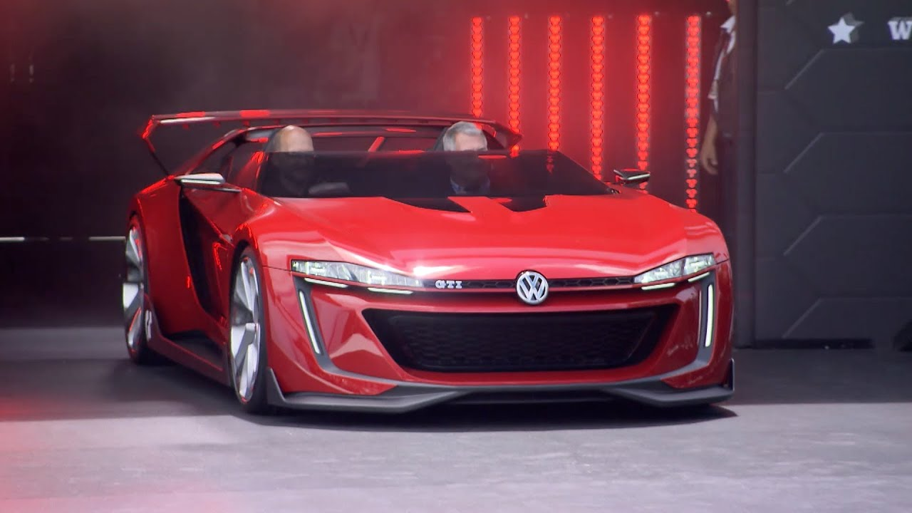 Vw Golf R400 >> Volkswagen GTI Roadster Vision Gran Turismo & Golf R400 - YouTube