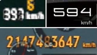 ゲーム界最速のクルマTOP10 Top Speed Record in 10 Games