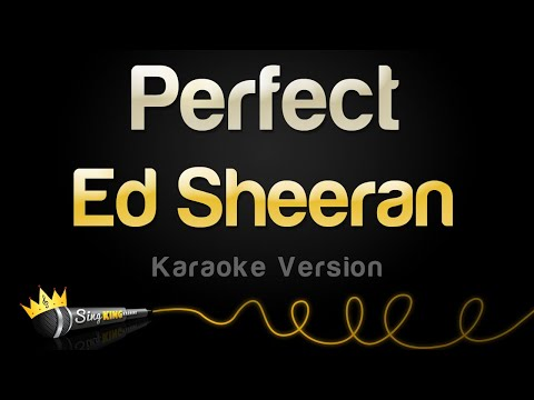 Ed Sheeran - Perfect (Karaoke Version)