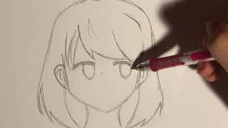 How to draw: Anime School girl