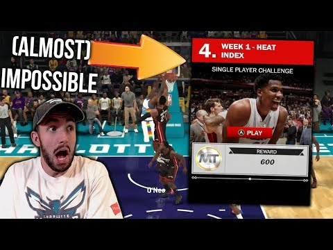 HOW TO BEAT THE IMPOSSIBLE MYTEAM CHALLENGE IN NBA 2K18!!