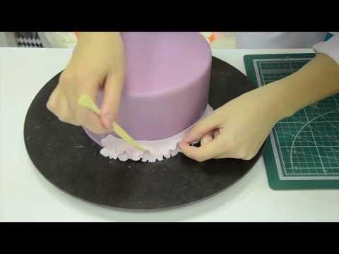 Декорирование торта. Урок 4