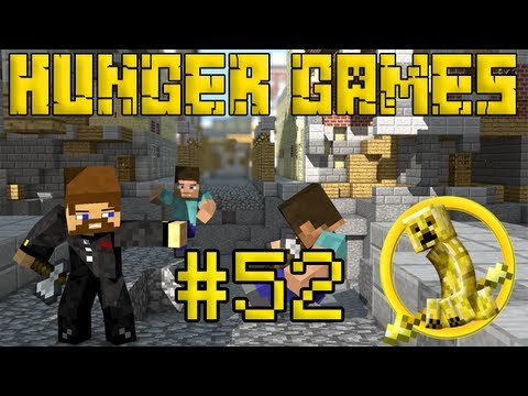 Minecraft Hunger Games #52 - Лунная база