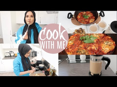 COME COOK BREAKFAST WITH ME- Spiced Chai+ Shakshouka Recipe| Zeinah Nur