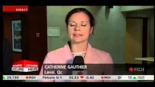 Catherine Gauthier de RDI aurait d� prendre cong�