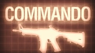 Commando - Black Ops Multiplayer Weapon Guide
