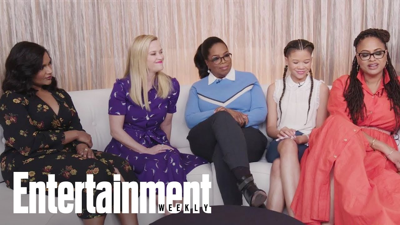 'A Wrinkle In Time' Stars Praise Each Other, Discuss Film's Impact & More | Entertainment Weekly