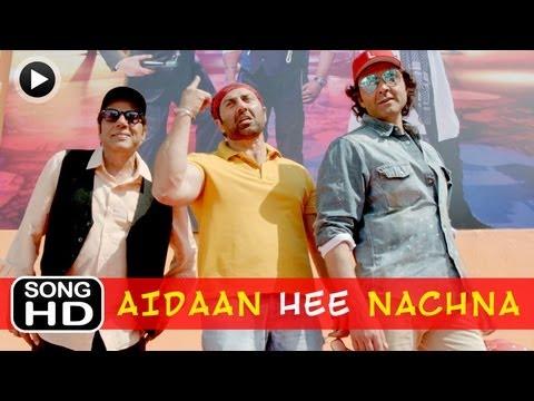 Main Taan Aidaan Hi Nachna - Song - Yamla Pagla Deewana 2