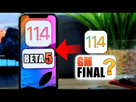 iOS 11.4 Beta 5 Released | is This The FINAL RELEASE ?