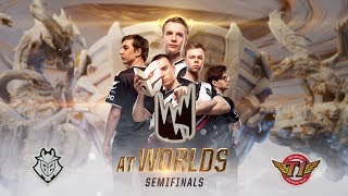 LEC at #Worlds2019 - G2 vs. SKT Semifinals (Gameplay Montage)