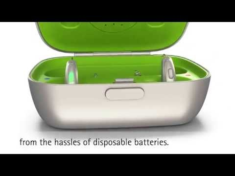 Phonak Audéo B-R Rechargeable Hearing Aid