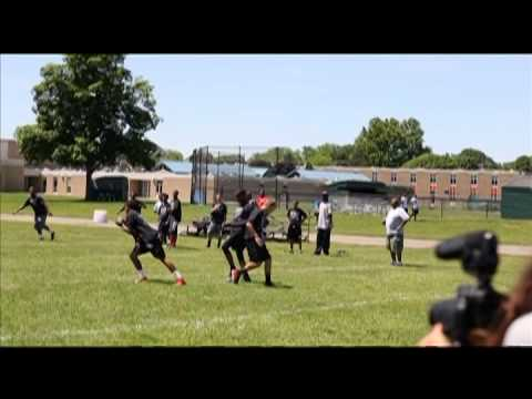 Carr Cares 2014 Elite Football Camp Flint