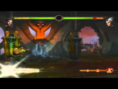 Shang Tsung Combos in Mortal Kombat 9 for PS3 and XBOX