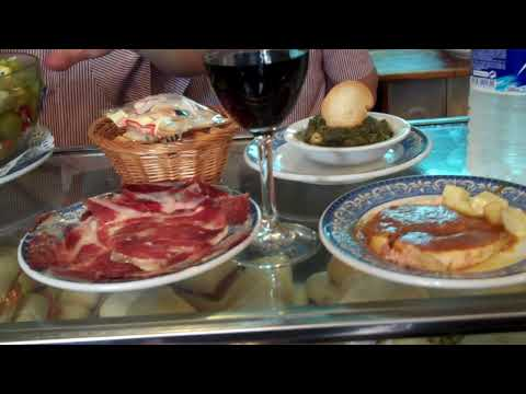 Sevilla, Spain: Having Tapas for Lunch
