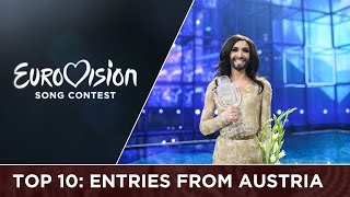 Top 10: Entries from Austria