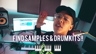 WHERE TO FIND SAMPLES & DRUM KITS!!! (Beatmaker Tips)