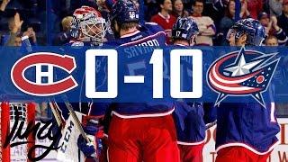Canadiens vs Blue Jackets   10 Goals   Highlights   Nov. 4, 2016 [HD]