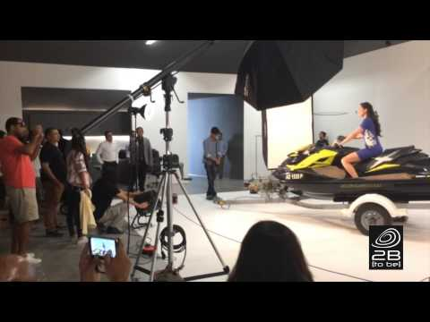 2B Behind the Scenes with Nargis Fakhri