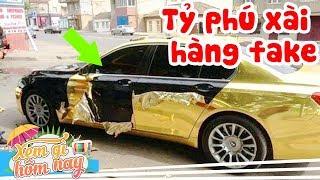 10 TỶ PHÚ KEO KIỆT nhất thế giới - Đến ô tô cũng dùng hàng fake