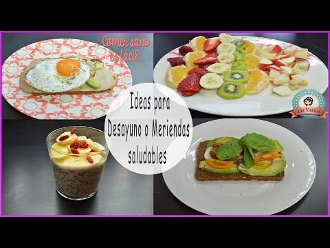 Ideas Para Desayunos O Meriendas Saludables| Comer Sano Es Fácil