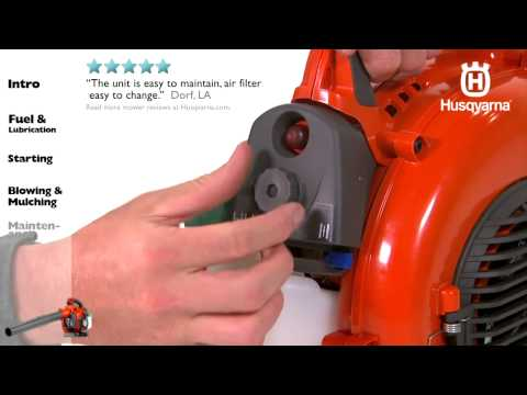Husqvarna Handheld Blowers - Maintenance