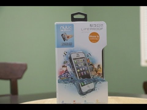 Lifeproof Nuud iPhone 5s Unboxing and Review