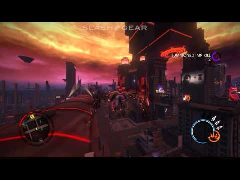 Saints Row Gat out of Hell gameplay on Falcon Northwest TLX