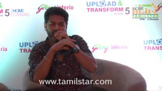 Actor Prabhu Deva Launches Of Upload And Transform