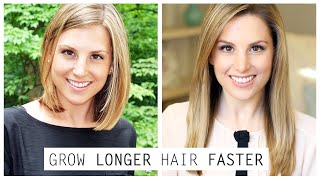 How To Grow Longer Hair Faster