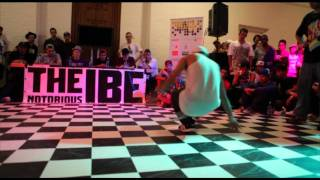 Footwork battle Semi Final 2 [IBE 2011] -  Profo vs. Intact