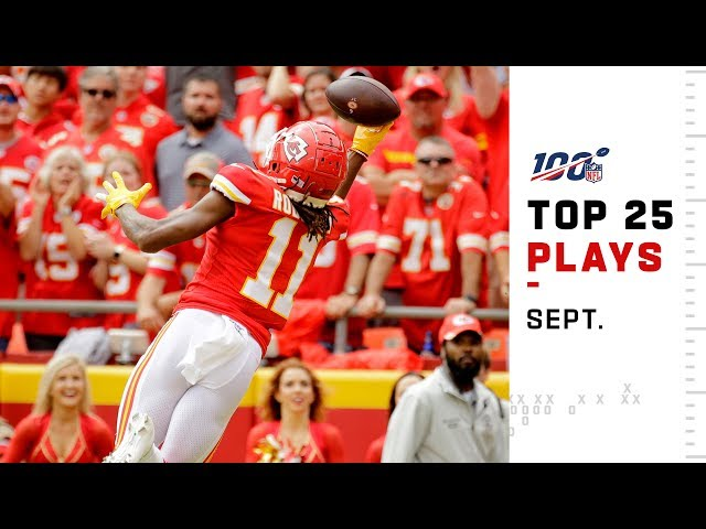 Top 25 Plays from September | NFL 2019 Highlights thumbnail