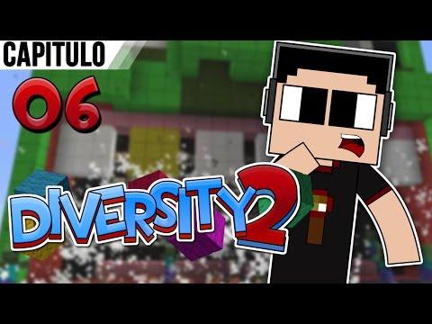 Minecraft: Diversity 2 Con Alkapone Ep. 6 un Salto De Mi Paciencia I Parkour I video