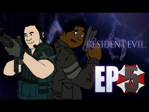 Resident Evil 6 Campaña Co op de Leon con Tum Tum Ep. 5