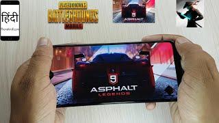 Galaxy A20 Gaming Review, PUBG, Asphalt 9, Shadow Fight 3