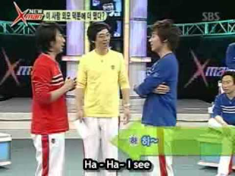 [Eng] Haha & Andy's English battle on Xman