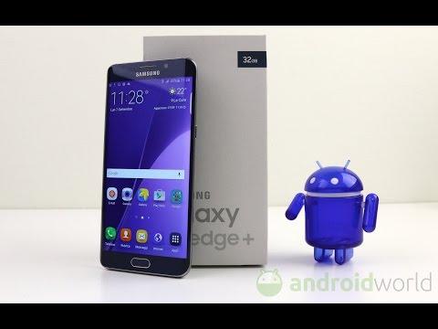 Samsung Galaxy S6 edge+ (plus), recensione in italiano