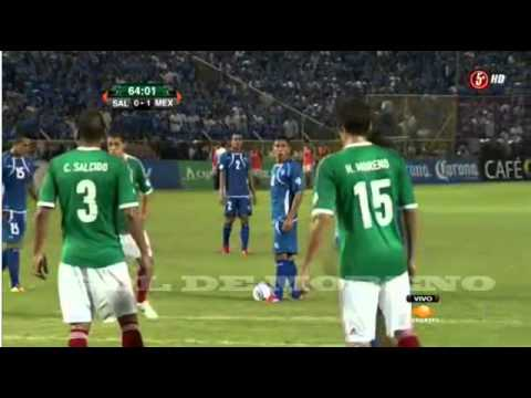 El Salvador vs Mexico 1-2 eliminatorias [Mexico vs El Salvador All Goals & Highlights 12/06/2012]