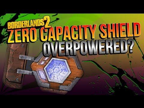 BORDERLANDS 2 | The Rough Rider: Zero Capacity Shield OVERPOWERED?