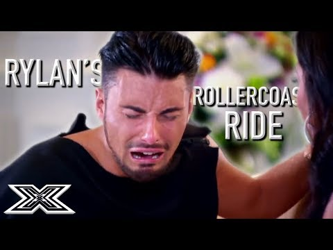 Rylans Rollercoaster Ride on The X Factor UK  X Factor Global