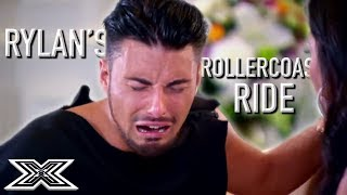 Rylan's Rollercoaster Ride on The X Factor UK | X Factor Global
