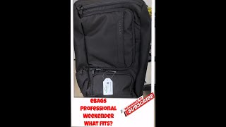Ebags Professional Weekender... WHAT FITS!??