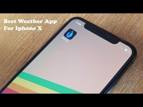 Best Weather App For Iphone X - Fliptroniks.com